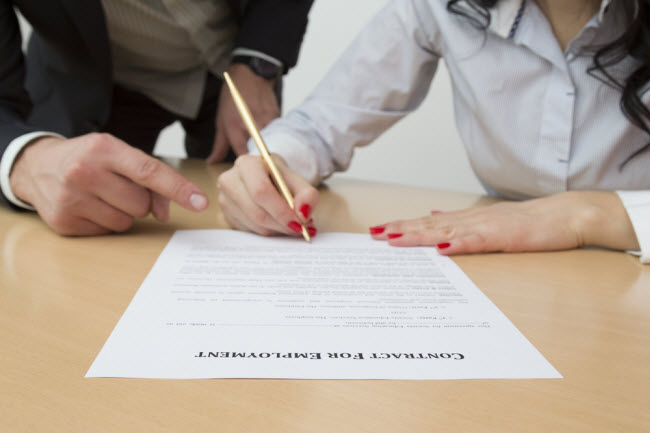"When is your ""employment contract"" a Sham?"